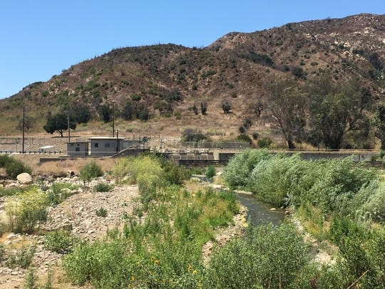 Along the Ventura River watershed.