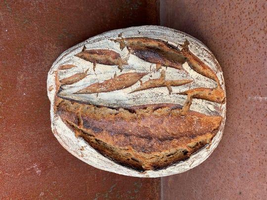 Chase Fox Harnett's sourdough bread.