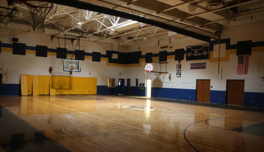 The gymnasium at The Bayard School in Wilmington.