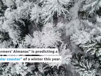 "Farmers' Almanac predicts a ""polar coaster"" of a winter"
