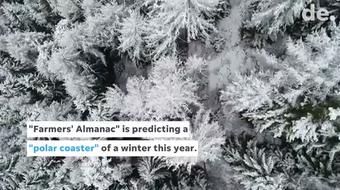 """Farmers' Almanac predicts a """"polar coaster"""" of a winter"""