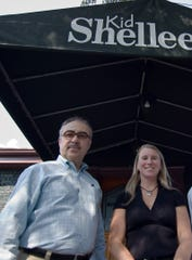 Kid Shelleen's owners Xavier Teixido and Kelly O'Hanlon are planning a second location for their popular Trolley Square eatery. They hoped to open in 2020 in Branmar Plaza Shopping Center, but the plans have been delayed for about a year.