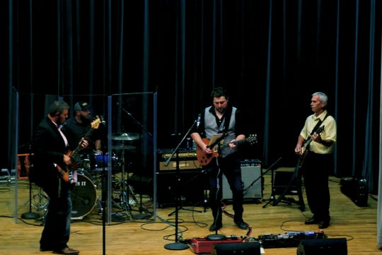"Deep In It performing at The Forum earlier this year. The blues rock band with a country flair has won Texoma's Best ""Live Music"" award two years running."