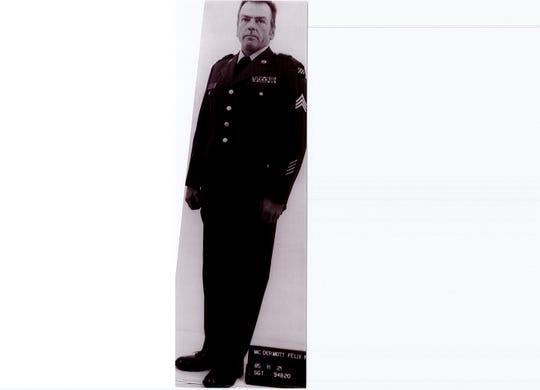 8/27/2019. This is Felix Kirk McDermott a veteran who died last year at a VA hospital in Clarksburg, West Virginia.
