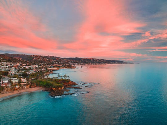 Laguna's beaches are punctuated by secluded coves and cliffs.