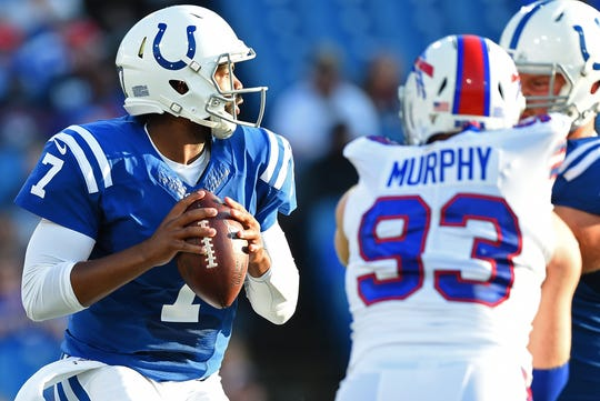 The Colts' 2019 hopes ride on Jacoby Brissett.