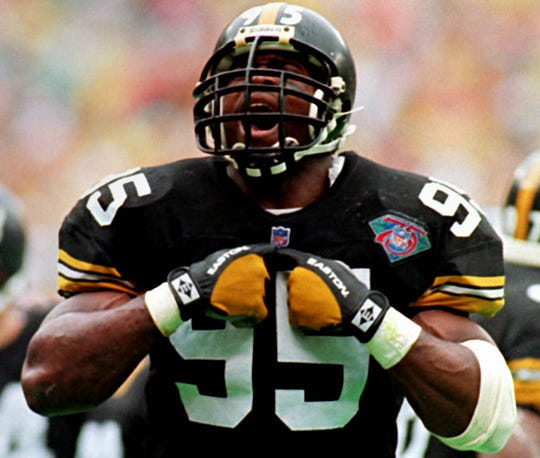 Greg Lloyd was a five-time Pro Bowler for the Steelers.