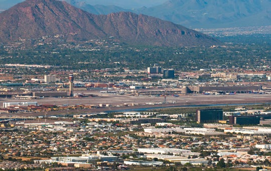 As a result of travel restrictions and concerns caused by the coronavirus pandemic, Phoenix Sky Harbor International Airport saw a 47% decrease in the number of travelers last month.