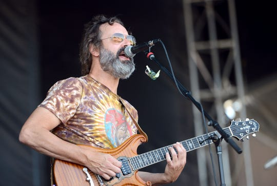 Musician Neal Casal of Chris Robinson Brotherhood performs onstage during the Bourbon & Beyond Festival at Champions Park on Sept. 23, 2017, in Louisville, Ky.