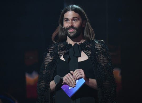 Jonathan Van Ness speaks onstage during the 2019 MTV Video Music Awards.