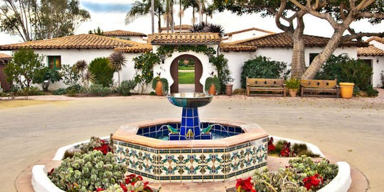 Casa Romantica's bluff-top campus is the former home of Ole Hanson, the founder of San Clemente, California, and is open daily for self-guided tours.