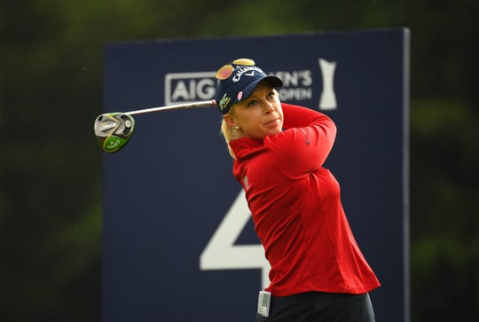 Morgan Pressel, who tied for fourth in last month's AIG Women's British Open, has played on five Solheim Cup teams dating to 2007.