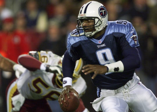 Steve McNair was a threat in the pocket and on the run.