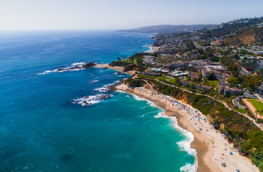 Los Angeles to San Diego beach towns to see on the Pacific Coast