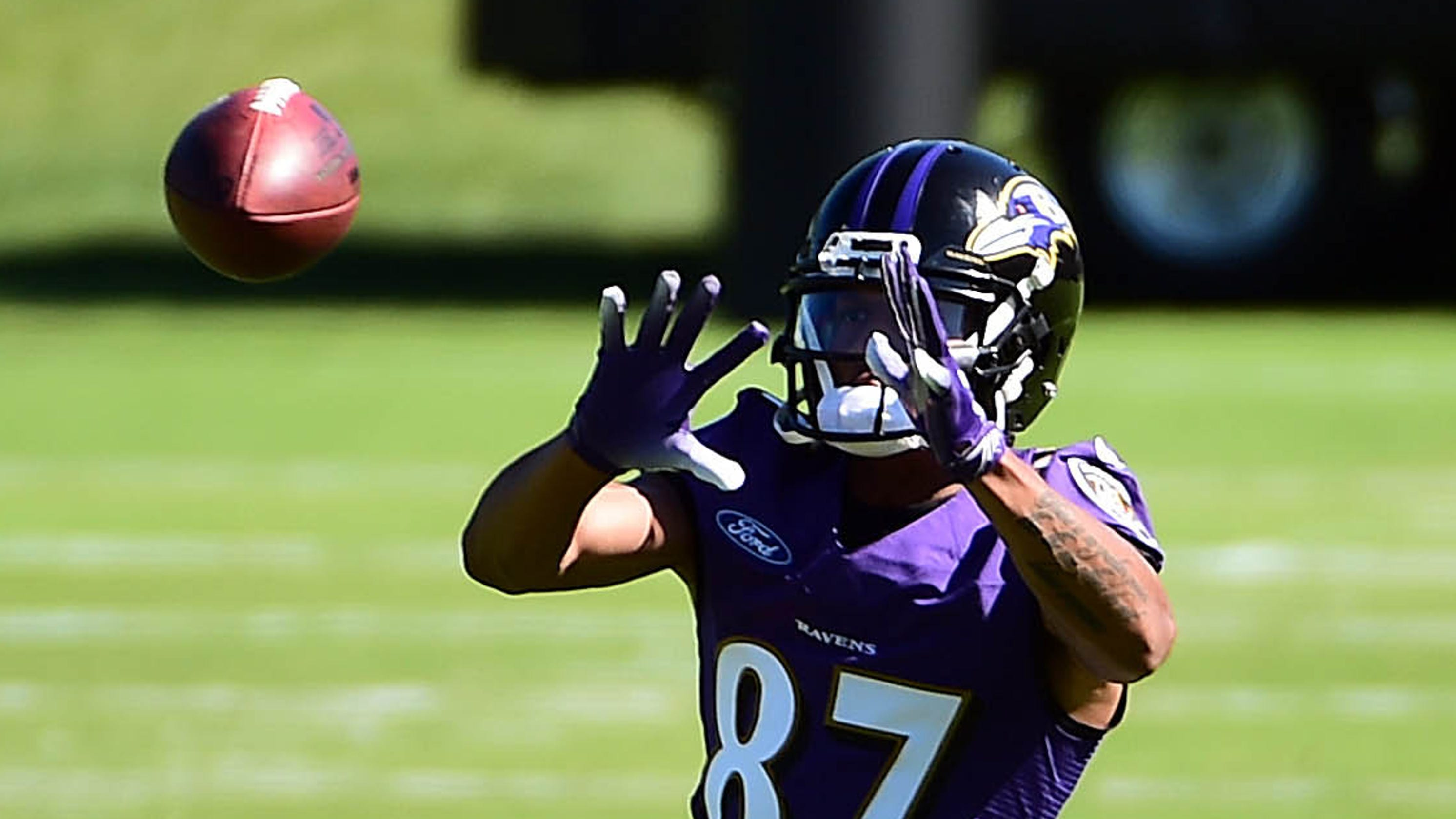 low priced 58da6 7576d NFL: Joe Horn Jr. trying to follow father, catch on with Ravens