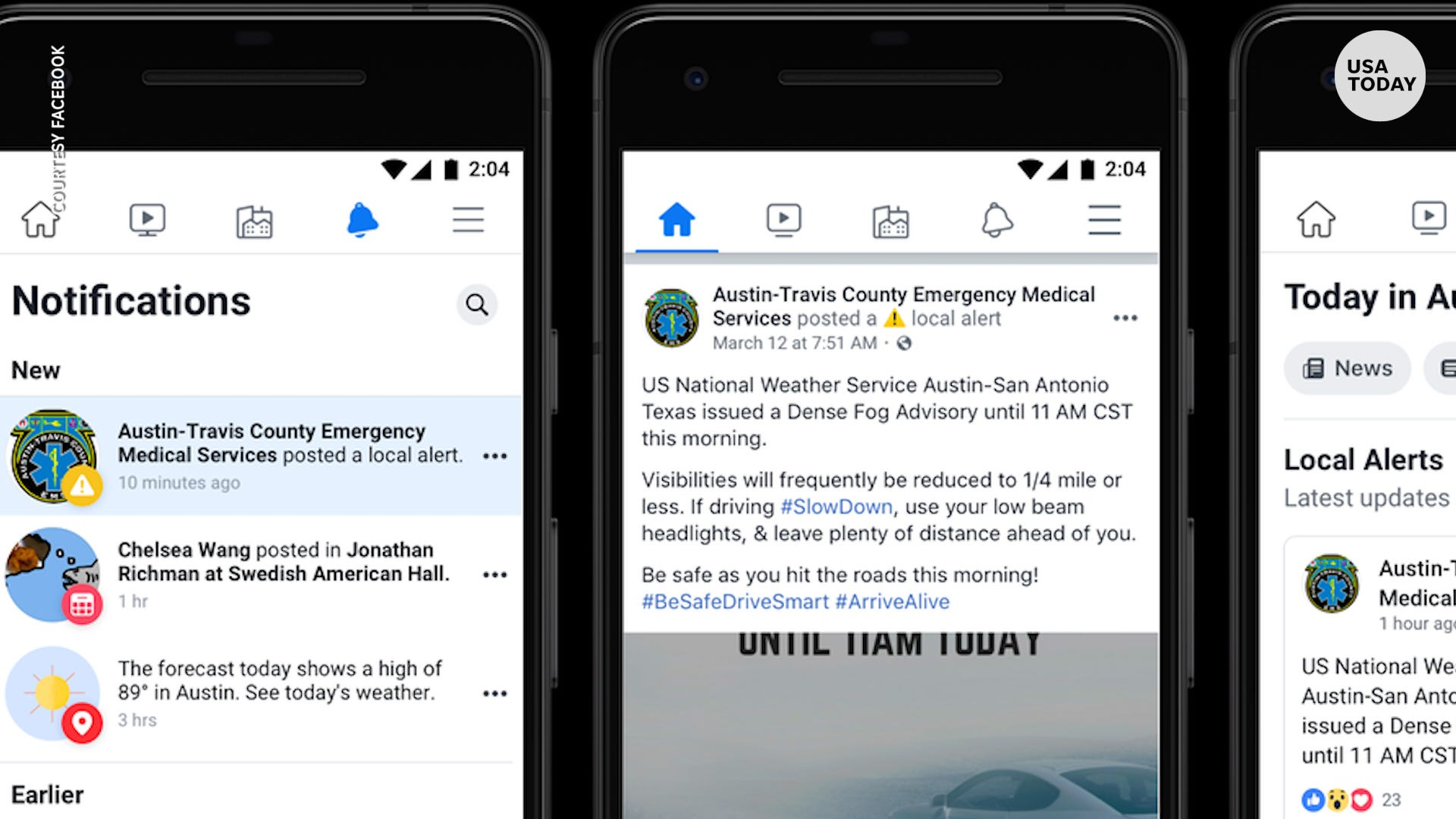Facebook can now alert users of active shooters