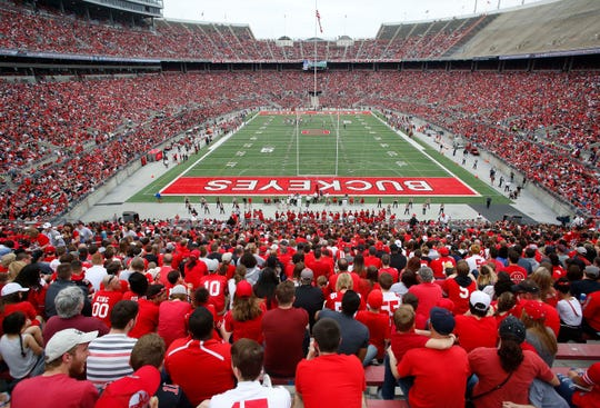 Ohio Stadium will host a game 16 years in the making -- against Cincinnati on Sept. 7.