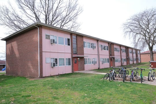 Purdue Village married student housing, on campus in West Lafayette, Ind.