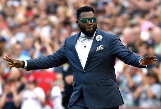 Ortiz hit 541 home runs in his career.