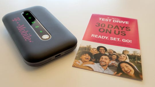 T-Mobile will send you a hotspot to test its network against rivals for 20 days.