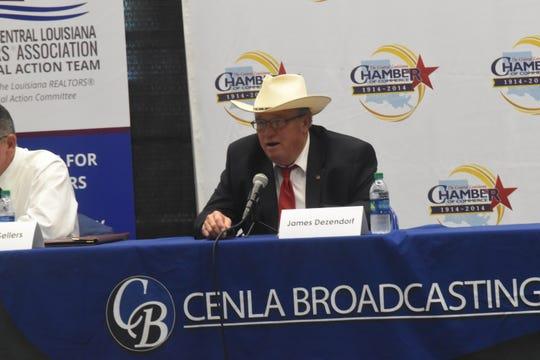 James Dennis Dezendorf is one of eight candidates running for Rapides Parish sheriff.