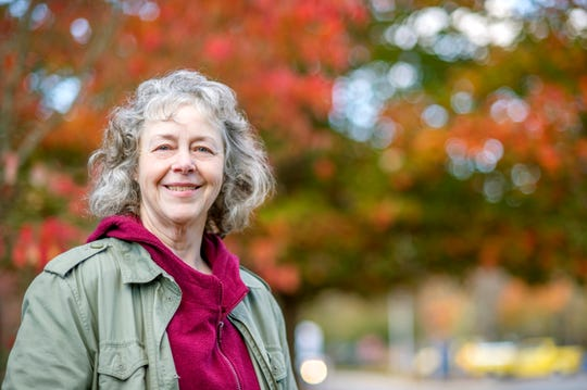 Beverly Collins is a professor of biology at Western Carolina University who tracks the science of fall leaf color.
