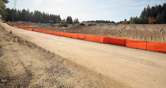 Construction of a single-family housing development is underway along Baker Road in Port Orchard.