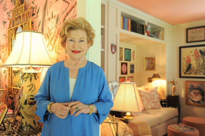 """Best-selling author of the """"Mitford"""" novels, Jan Karon, at her home in Black Mountain."""