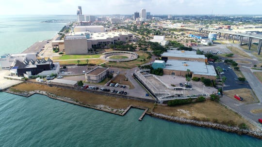 A potential project could double the downtown Corpus Christi floodwall's function by making it a sightseeing hub,creating a walkable space.