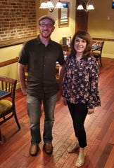 Ryan Middleton, who's taken a leadership role in Merchantville since moving to the small town from Texas, is planning the Merchantville Music Fest with longtime resident and musician Charlene Chamberlain.