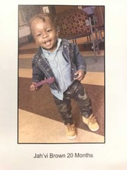 The mother of 20-month-old Jah'vi Brown has been charged with his murder.