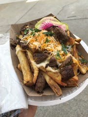 Filet mignon tips make these Cheesesteak Fries from Beast of the Street something special.