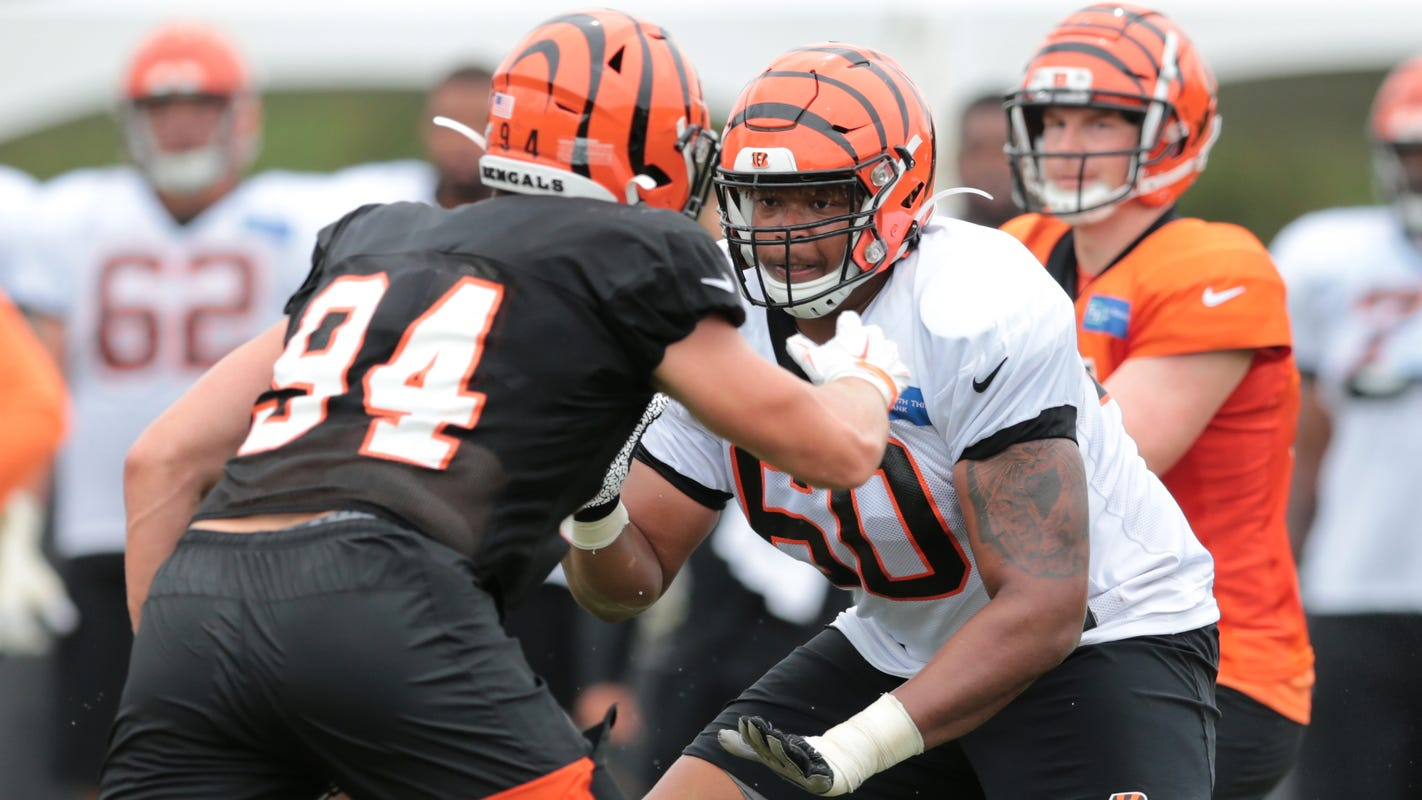 Bengals notebook: Rookie Michael Jordan to make second-straight start at LG this week