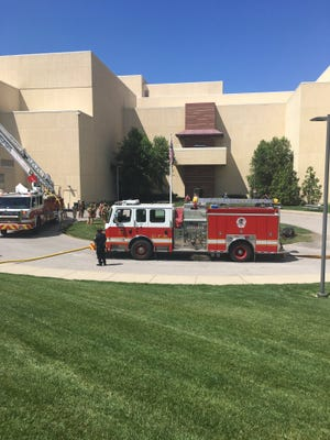 A report of a fire at Jack Casino came in on Wednesday afternoon.