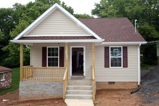 New home on Cedar St.