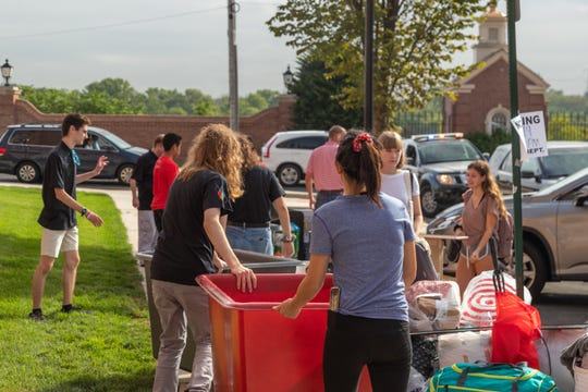 New Brunswick NJ: Rutgers Move-In Day brings out students, parents and Mayor James Cahill on August 28 at 9 a.m. at 5 Seminary Pl.