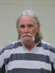Mark William Hobbs, 59, shown in his August 2019 Cerro Gordo County mugshot
