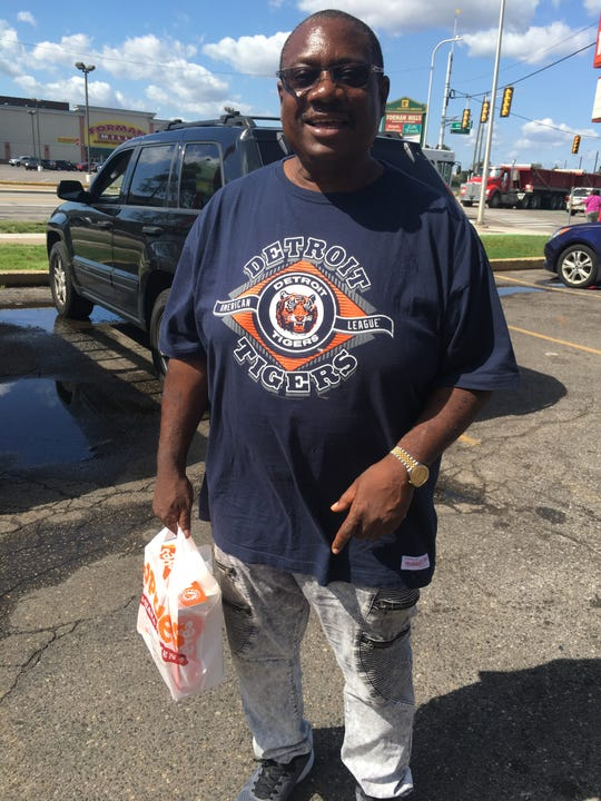 Eric Pugh at the Popeyes in Detroit on Warren and Conner