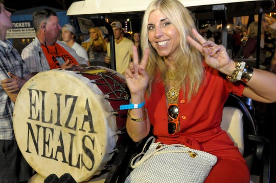 Eliza Neals and her band blend electric blues with Southern soul and a bit of psychedelic rock.