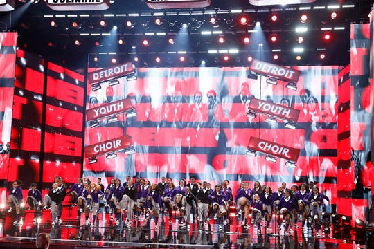 The Detroit Youth Choir,  performing here on Aug. 27 on 'America's Got Talent,' came in second place during Wednesday's finale.
