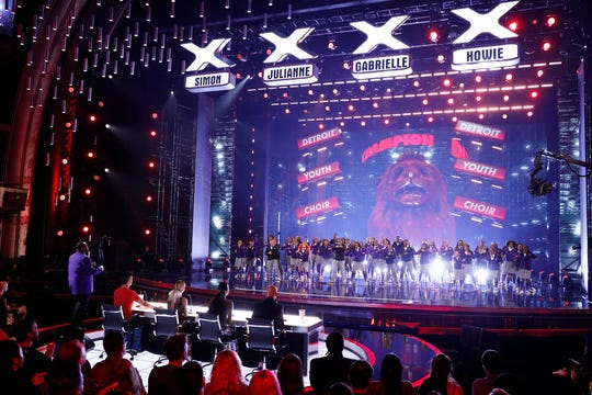 Detroit Youth Choir performs on Tuesday, August 27 on 'America's Got Talent'