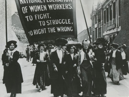 In 1919, after much campaigning, the United States Congress passed an amendment to the Constitution giving women the right to vote.