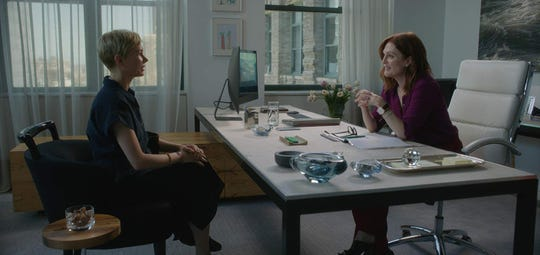 "Michelle Williams and Julianne Moore in ""After the Wedding."""