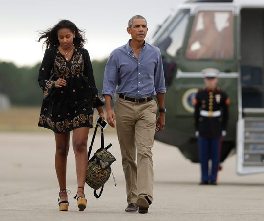 Image result for barack and sasha michigan