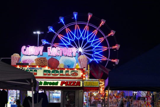 No State Fair is complete without carnival rides. This year will see a new Zipper, as well as the Himalaya.