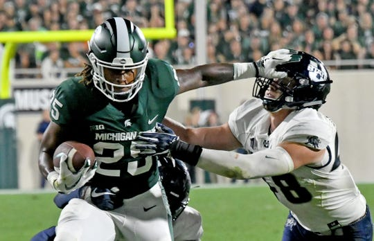 Darrell Stewart Jr. is part of a deep and talented receiving group for Michigan State.