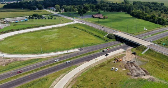 Bridge, road and ramp projects seen at the bypass along U.S. 20 and U.S. 6 in Sandusky County County.