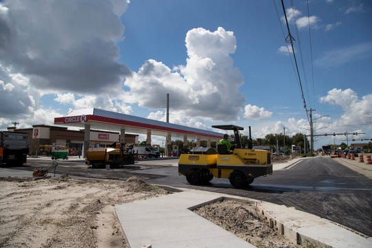 A new Circle K convenience store and gas station is near completion on Del Prado Boulevard at the corner of Hancock Bridge Parkway in Cape Coral.