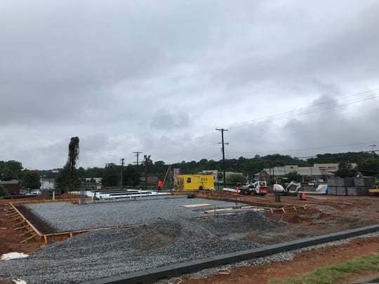Construction is underway at a site at 5330 Wade Hampton Boulevard in Greenville County. Aug. 27, 2019
