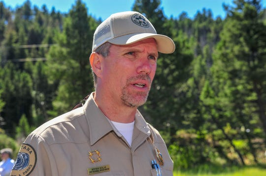 Bryan Golie, a regional investigator for Montana Fish Wildlife and Parks, first reached out to rancher Dan Barrett in 2016 about providing access for elk hunters as part of FWP's efforts to manage the elk population. Access, he says, is the No. 1 issue he hears about in his job.